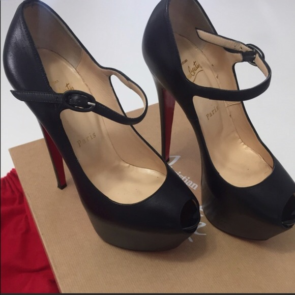 the best attitude 2433d b8826 Christian Louboutin Mary Jane 160mm size 8.